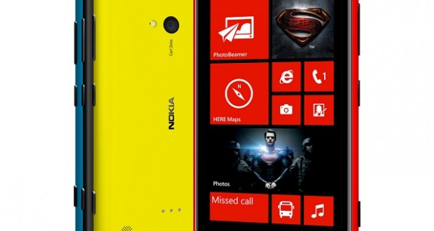 Nokia Lumia 720 – Man of Steel Edition (Exclusive Bahrain Competition)
