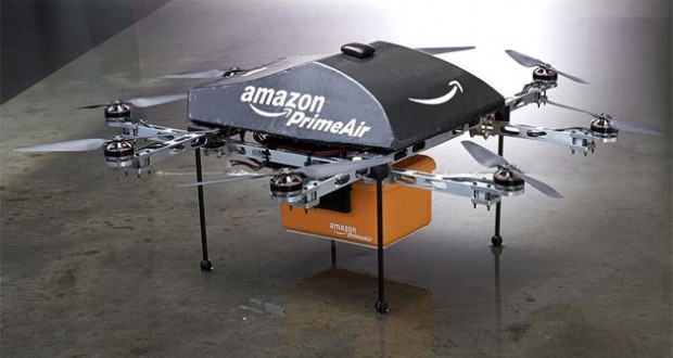 Amazon Shows off its delivery Air Drones