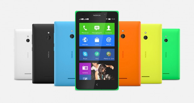 Nokia XL Dual Sim Phone with Android apps