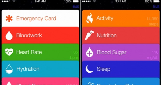 Apple iOS 8 Healthbook: Heart Rate, Hydration, Blood Sugar, Sleep Patterns