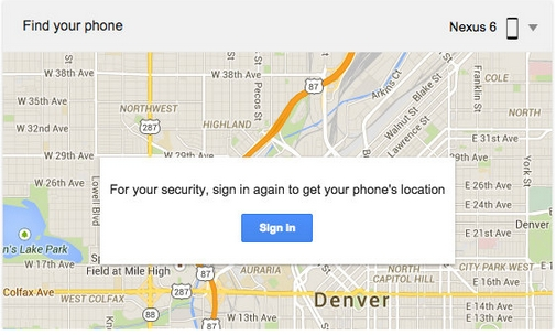 Find Your Lost Android Phone on Google.com