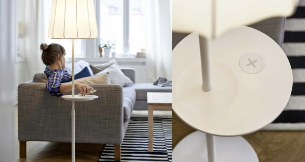 Ikea new wireless charging furniture